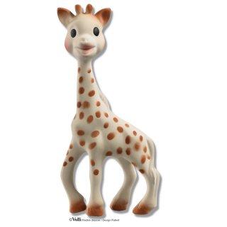 Sophie - die Giraffe, Naturkautschuk - aus Frankreich, 18cm hoch